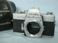 ' SRT101 NICE SET ' Minolta SRT101 SLR Camera c/w Ever Ready Case  -NICE- £14.99